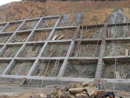 基础护坡工程加固