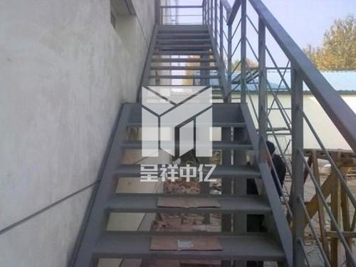 钢结构楼梯施工