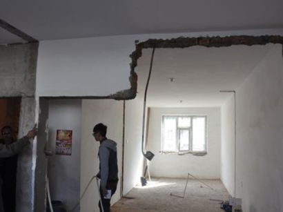如何保证承重墙开门洞加固施工质量?陕西加固